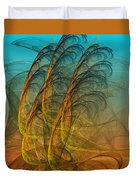 Autumn Whirlwind  Duvet Cover