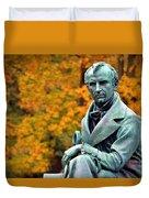 Autumn With Mr. Cooper Duvet Cover