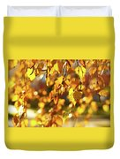 Autumnal Curtain Duvet Cover