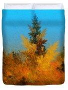 Autumnal Forest Duvet Cover