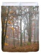 Autumnal Mist Duvet Cover