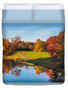 Autumnal Scene Duvet Cover