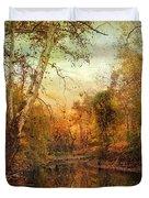 Autumnal Tones Duvet Cover