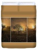 Autumnal Triptych. Duvet Cover
