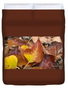 Autumns Color Palette Duvet Cover