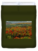 Autumns Colors Duvet Cover