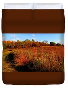 Autumns Field Duvet Cover