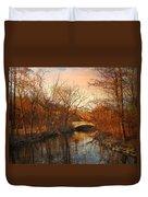 Autumn's Golden Glow Duvet Cover