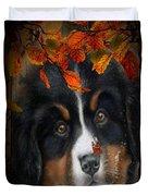 Autumn's Pup Duvet Cover