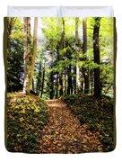Autumn's Trail Duvet Cover