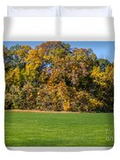 Autumn's Wall Duvet Cover