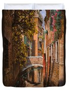 autunno a Venezia Duvet Cover by Guido Borelli