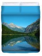 Avalanche Lake Duvet Cover