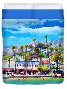 Avalon Waterfront, Catalina Duvet Cover