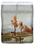 Avellino's Landscape  Duvet Cover