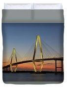 Avenell Bridge Sunset Duvet Cover