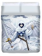 Avenging Angel Duvet Cover