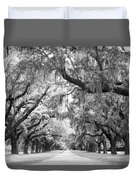 Avenue Of Oaks Charleston South Carolina Duvet Cover