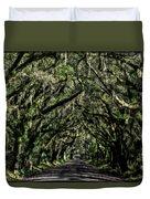 Avenue Of Oaks Duvet Cover