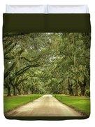 Avenue Of The Oaks Duvet Cover