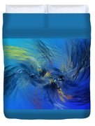 Avian Dreams 4 - Mating Rituals  Duvet Cover