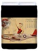 Aviation 1953 Duvet Cover