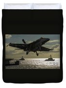 Aviation Art Catus 1 No. 26 L A Duvet Cover