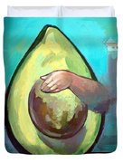 Avocado Duvet Cover