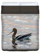 Avocet Sunset Duvet Cover