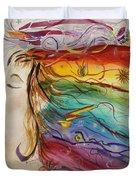 Awakening Consciousness Duvet Cover