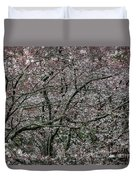 Awash In Cherry Blossoms Duvet Cover