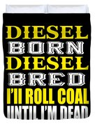 Awesome Diesel Design Born And Bred Duvet Cover