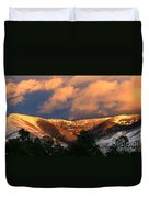 Awesome Light Of New Mexico Duvet Cover