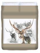 Axis Deer Duvet Cover