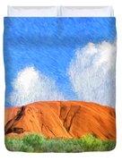 Ayers Rock Duvet Cover