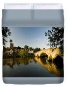 Aylesford Bridge Kent Duvet Cover