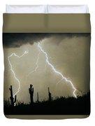 Az Desert Storm Duvet Cover by James BO  Insogna