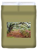 Azalea Alley Duvet Cover