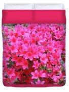Azalea Flowers Duvet Cover