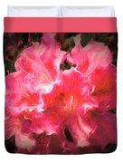 Azaleas 10 Duvet Cover