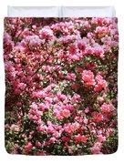 Azaleas Aplenty Duvet Cover