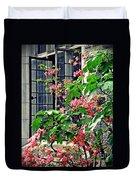 Azaleas At The Window   Duvet Cover