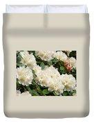 Azaleas Rhodies Landscape White Pink Rhododendrum Flowers 8 Giclee Art Prints Baslee Troutman Duvet Cover