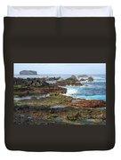 Azores Seascape Duvet Cover