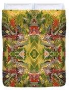 Aztec Kaleidoscope - Pattern 001 - Desert Duvet Cover
