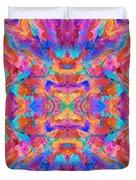 Aztec Kaleidoscope - Pattern 030 Duvet Cover