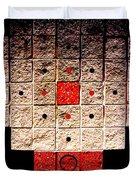 Aztec Nuclear Furnace Duvet Cover