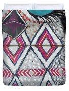 Aztec Owly Duvet Cover