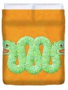 Aztec Serpent Duvet Cover