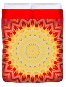 Aztec Sunburst Duvet Cover
